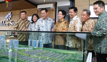 Foto The Golden Stone @ Serpong  Luncurkan Cluster Agate