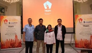 Foto TRAFI Resmi jadi Mitra Aplikasi Jakarta Smart City