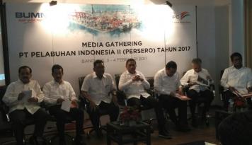 Foto 2017, Pelindo II Bidik Pendapatan Rp.10,5 Triliun