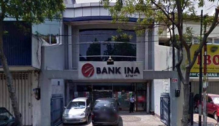 Penyaluran Kredit Bank Ina Menanjak 30,43% Hingga September