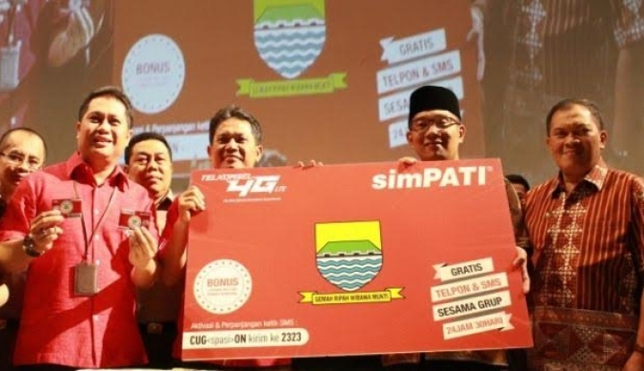 Foto Berita Resmikan 4G Telkomsel se-Sumatra, Ketua MPR: Kalau BUMN Saya Bela Paling Depan