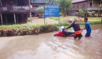 Foto 45.447 Warga Bima Terdampak Banjir