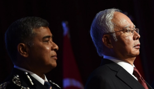 Foto Najib Razak: Saya Tidak Pernah Jual Kedaulatan Malaysia