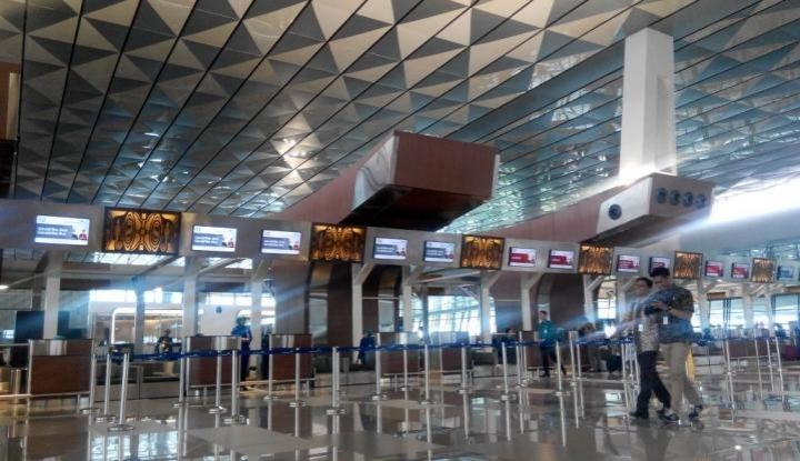 Foto Jumlah Penumpang Bandara Soetta Meningkat Pada H+1
