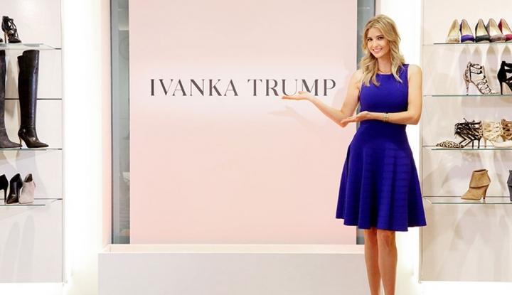 Peritel AS Hentikan Penjualan Merek Fashion Ivanka Trump - Warta Ekonomi