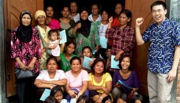 Foto KKI Sebagai Pejuang Kemiskinan di Ujung Jakarta
