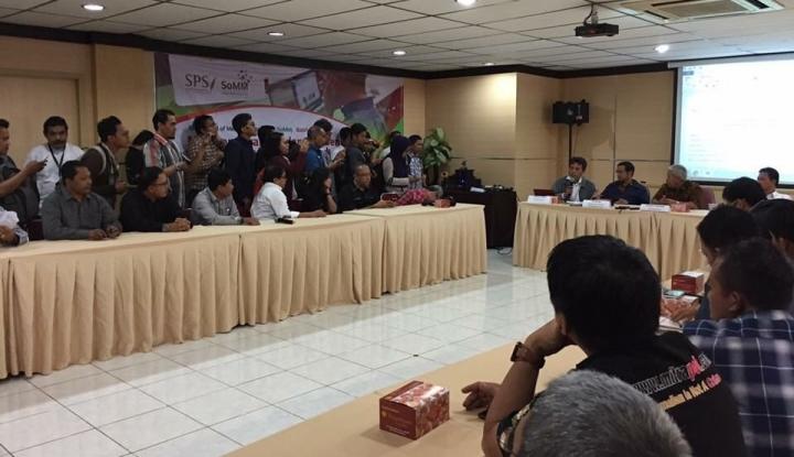 Foto Berita Badan Pekerja Tentukan Sembilan Anggota Dewan Pers 2019-2022