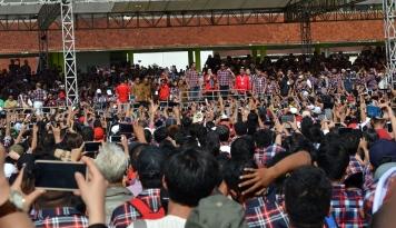 Foto Relawan Ahok Laporkan Ketua KPU DKI Jakarta Terkait Debat Putaran Kedua