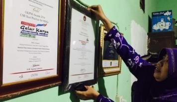 Foto Berkat Abon Ikan, Nuraeni Sabet Lebih 100 Penghargaan