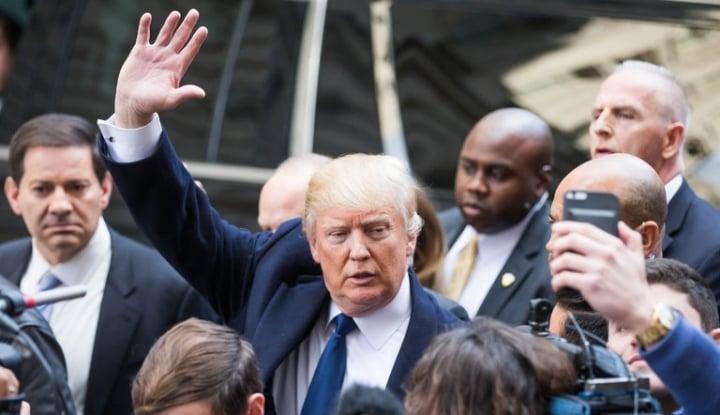 Foto Berita Trump Bantah Minta FBI Hentikan Penyelidikan Intervensi Rusia