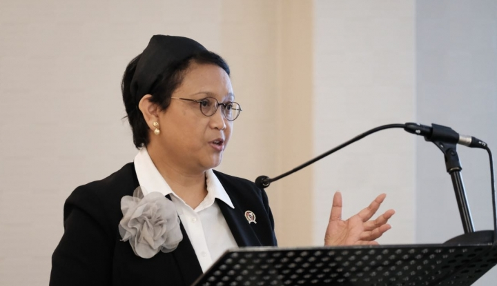 Menlu Retno: Indonesia Tolak Klaim Wilayah Tanpa Dasar Hukum - Warta Ekonomi
