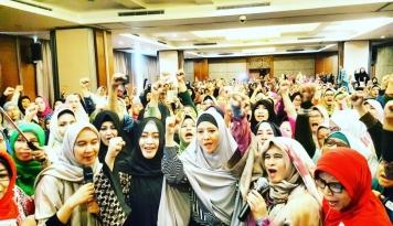 Foto 13 Ribu Relawan Perempuan Siap Pantau TPS Seluruh Jakarta