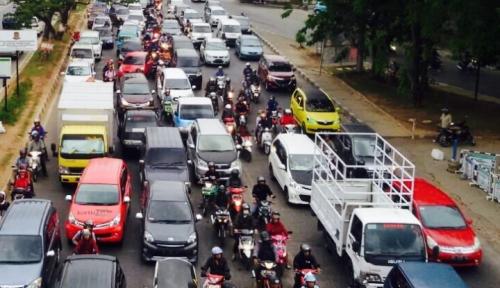 Foto Makassar Kian Macet, Dishub: Pertumbuhan Kendaraan Terlampau Tinggi!