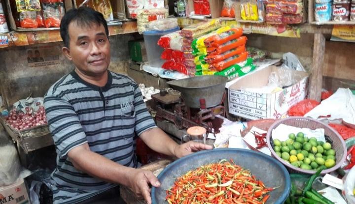 cabai paling rajin sumbang inflasi di sumut