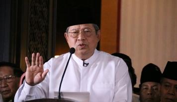 Foto SBY Belum Teken Komitmen Kampanye Damai, Masih 'Ngambek'?