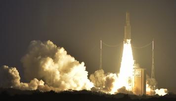 Foto Satelit Telkom 3S Mulai Tugasnya Menuju Orbit, Kawal Nusantara