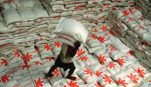 Foto Kubu Jokowi 'Takut', Polemi Beras Impor Jadi Senjata Lawan