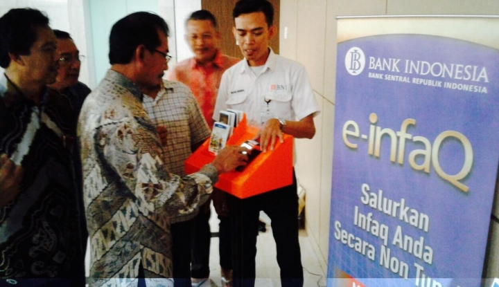 Foto Berita Bank Indonesia Luncurkan E-Infaq di Makassar
