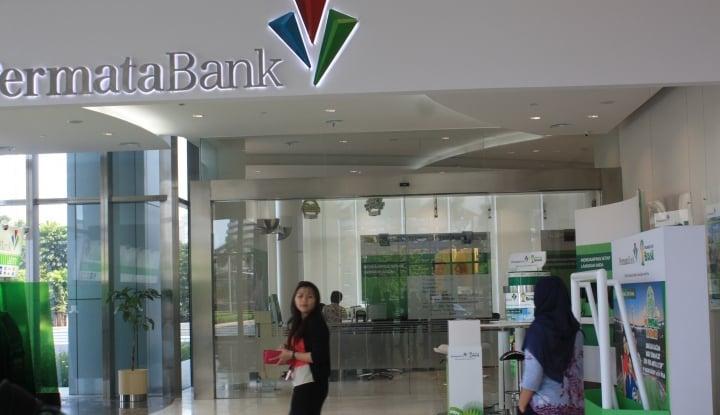 Triwulan I, Pendapatan Bank Permata Tumbuh 15,5%