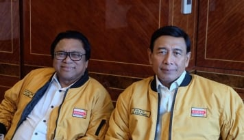 Foto Disodori Tawaran Cawapres Jokowi, Wiranto Jawab Begini...