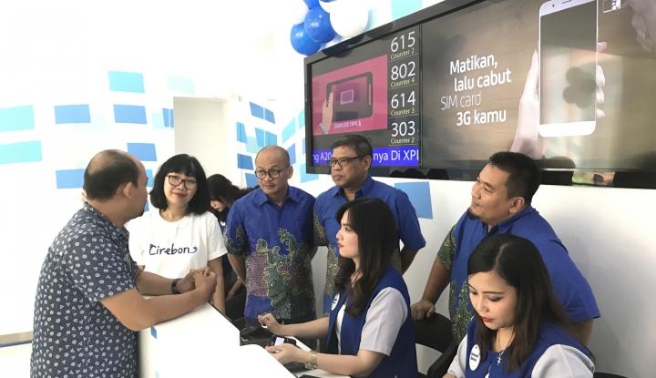 "Foto Berita XL Axiata Resmikan Pusat Layanan Mobile Broadband ""Xplor"" di Cirebon"