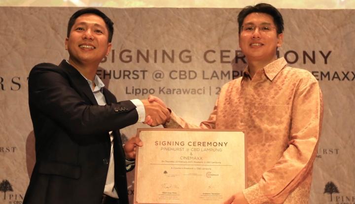 Foto Berita Cinemaxx Hadir di Kawasan Pinehurst Lampung