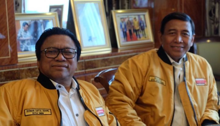 Foto Berita Oso Minta Kader Sigap Hadapi Pemilu 2019