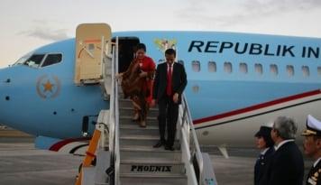 Foto Presiden Jokowi Kembali Ke Jakarta