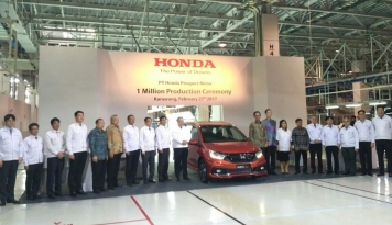 Foto Tahun Ini, Honda Targetkan Nilai Ekspor Komponen Rp2,5 Triliun