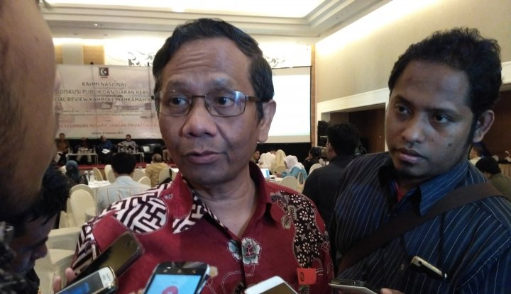 Mahfud MD Temui Pimpinan KPK, Kenapa ya? - Warta Ekonomi