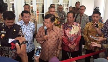 Foto Wapres JK: Indonesia Berpotensi Tingkatkan Ekspor-Impor dengan Kazakhstan