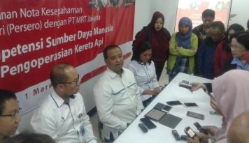Foto PT Len Garap MRT Jakarta