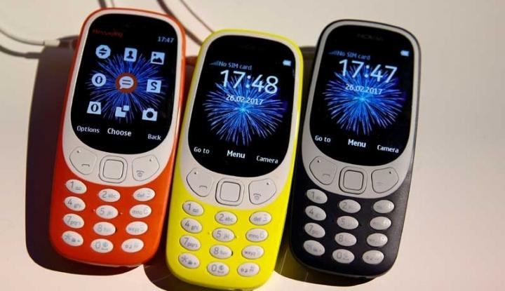 Foto Berita Ponsel Sejuta Umat Nokia 3310 Versi 2017 Resmi Diluncurkan di Mobile World Congress 2017