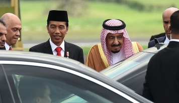 Foto Investasi Arab Saudi Kecil, Jokowi Minta Instropeksi