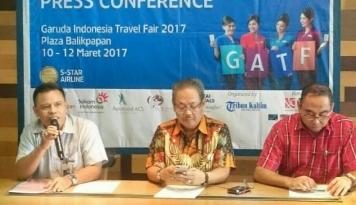 Foto Di Balikpapan, GATF 2017 Targetkan Penjualan 4000 Tiket