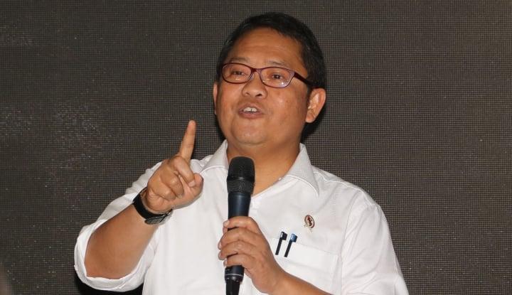 Tim Prabowo: Rudiantara Emosi, Banyak Pegawainya Pilih 02 - Warta Ekonomi