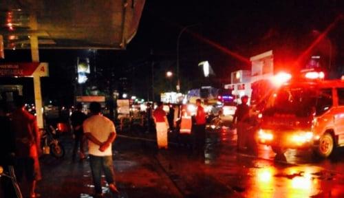 Foto Kebakaran Terjadi di Permukiman Padat Penduduk di Tanjungbalai