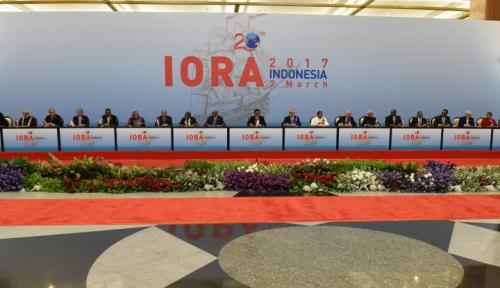 Foto Hasil Pertemuan IORA Dapat Memperluas Pangsa Pasar Ekspor Indonesia