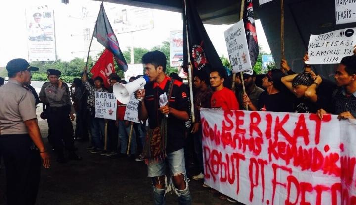 Foto Berita Demo Mahasiswa Berangsur Bubarkan Diri