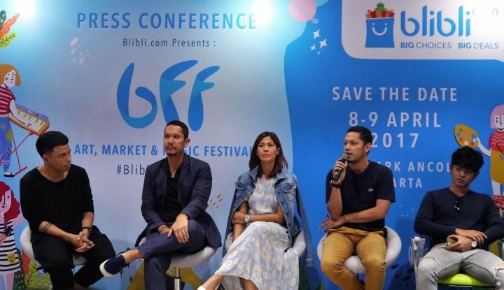 Foto Berita Deretan Musisi Top Bakal Ramaikan Blibli Fun Festival
