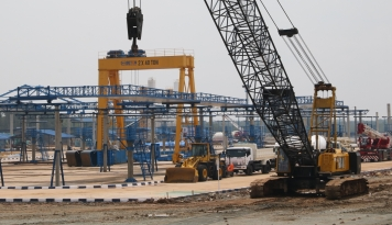 Foto Wow, Wika Beton Bangun Pabrik Hanya Dalam Dua Bulan