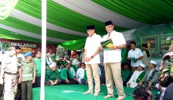 Foto Anies-Sandiaga Dapat Dukungan Relawan Muhammadiyah