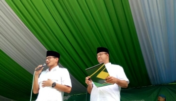 Foto Sandiaga Minta Pelaku Politik Uang Diarak Keliling Kampung