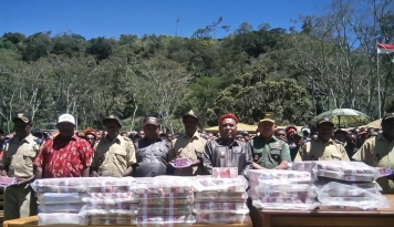 Foto Dalam Empa Hari, Dinas Pariwisata Papua Targekan 1.000 Wisatawan