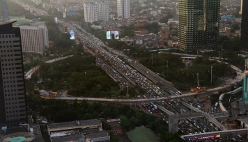 Foto Jakarta Berbenah Sambut Asian Games 2018