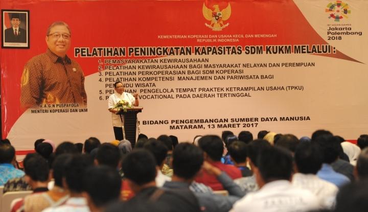 Foto Berita Menkop: Rasio Kewirausahaan Indonesia Harus Lebih dari 3,31 Persen