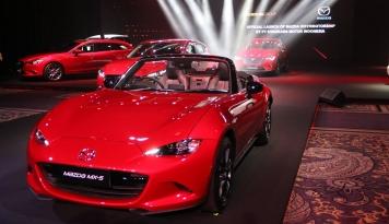 Foto Mazda Siapkan SUV Kompak Terbaru di Pameran GIMS 2019