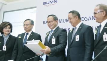 Foto Bank Mandiri Dukung Pelatihan Komputer bagi TKI