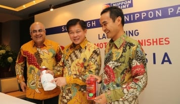Foto Nippon Paint Resmikan NP Auto Refinishes Indonesia