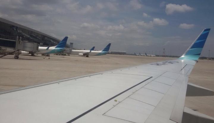 Foto Berita Penumpang Pesawat Rute Internasional Tumbuh 128,06%